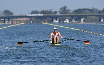 #rowingtotokyo: Oliver Zeidler: vom Schwimmer schlagartig zum Ruder-Weltmeister imEiner